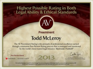 The AV Preeminent Rating